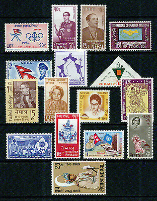 Nepal  -1964-1969 –Collection -Vf**