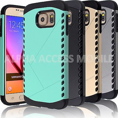 10 Luxury Protective Hybrid Case Cover Wholesale Lot For Samsung Galaxy S6 Edge