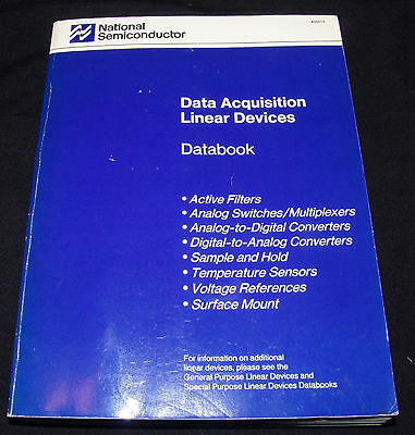 National Semiconductor Data Acquisition Linear Devices Databook 1989