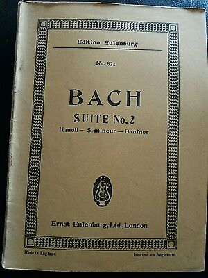 Bach Suite No. 3 In D, Oboes,trumpets,drums, Violin, Viola,continuo, Sheet Music