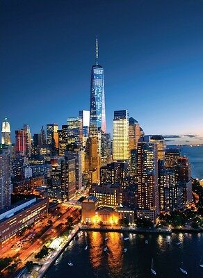 High quality poster picture New York City One World Trade Center Freedom Tower