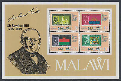 XG-K784 MALAWI - Rowland Hill, 1979 Stamp On Stamp MNH Sheet