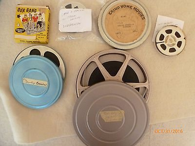 Six  8 & Super 8mm Cartoons & Other Miami Bowling +