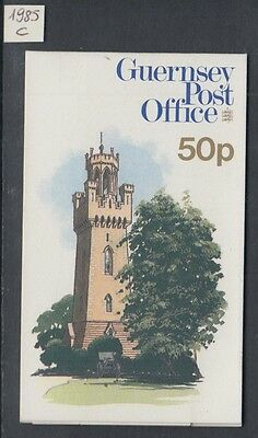 XG-W312 GUERNSEY - Architecture, 1985 Tourism, 50P MNH Booklet