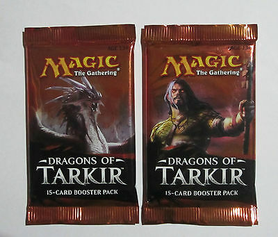 Magic the Gathering Trading Cards X2 Dragons of Tarkir Booster packs