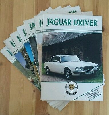 JAGUAR DRIVER Magazines 7 issues: April to November 1994 (Nos. 405 to 412)
