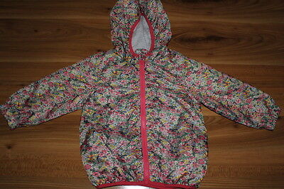 NEXT girls flower rain coat 18-24 months *I'll combine postage