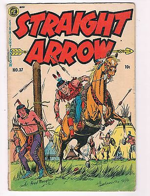 Straight Arrow #37 VG/FN ME ANC Comic Book DE5