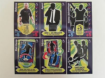 Match Attax 16/17 Full Set (402 Cards) Inc Foils 2016/2017 Complete Collection