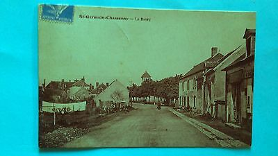 Cpa Nievre 58  St  Germain Chassenay  Le  Bourg