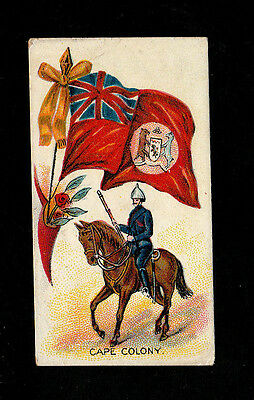 "Jas. Biggs 1903 Scarce (Flags) Card "" Cape Colony -- Flags & Flags With Soldiers"