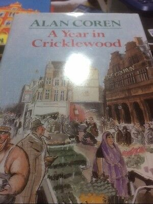 Signed copy of A year in Cricklewood Alan Coren