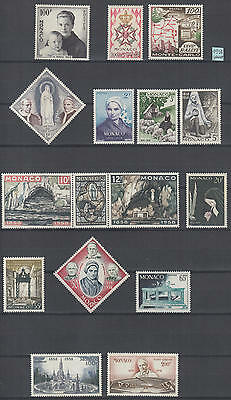 XG-K369 MONACO - Year Set, 1958 Complete As Per Scan MNH