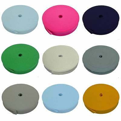 25mm (1 inch) Cotton Bias Binding Tape Trim 1 5 or 10 metres Various Colours