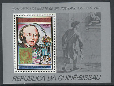 XG-K530 GUINEA-BISSAU - Rowland Hill, 1979 Stamp On Stamp, 6P MNH Sheet