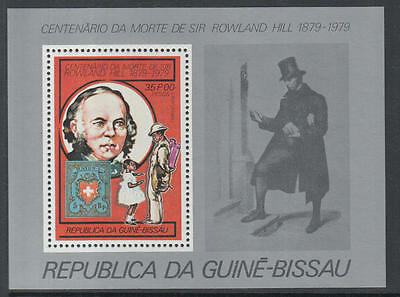 XG-K531 GUINEA-BISSAU - Rowland Hill, 1979 Stamp On Stamp, 35P MNH Sheet