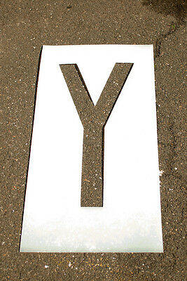 """Individual Letter and Number Stencils 6"""""""