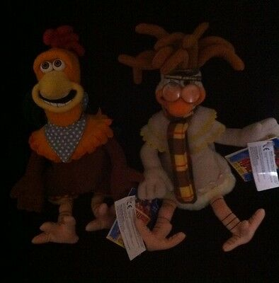 Chicken Run Collectibles Rocky & Mac BNWT