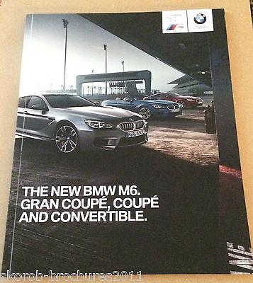 BMW - The New M6. Coupe, Gran Coupe & Convertible Sales Brochure 8/2015