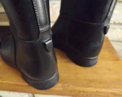 """""""cottage Craft"""" ~ Styled In Paris ~  Lined Long Riding Boot, Size 37 Xl, Clean"""