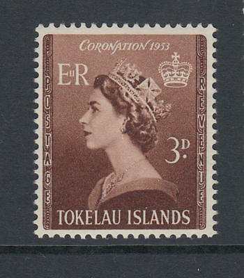 XG-L613 TOKELAU ISLANDS - Coronation, 1953 Queen Elizabeth II MNH Set