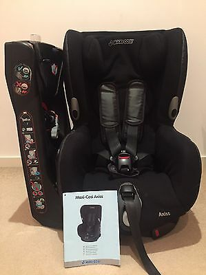 Maxi-Cosi Axiss Toddler Car Seat - Black Reflection & Mint Condition!