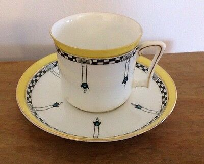 Vintage Tuscan China Cup And Saucer