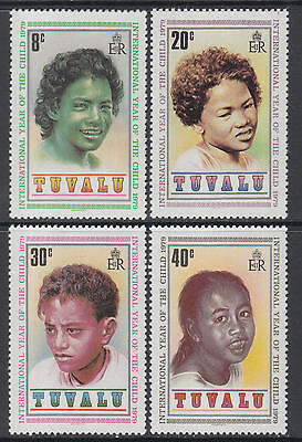 XG-M969 TUVALU - Intl. Year Of The Child, 1979 4 Values MNH Set