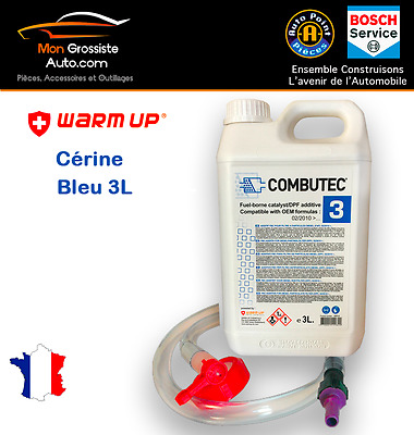 Kit Cérine Eolys POWERFLEX Bleu F.A.P Combutec 3  3L  Warm Up CITROEN PSA FORD