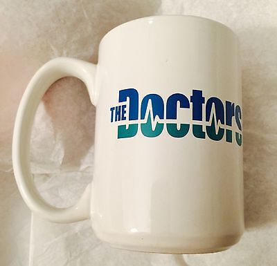 CBS The Doctors Promo Mug Show Broadcasting TV Television Show Promotional