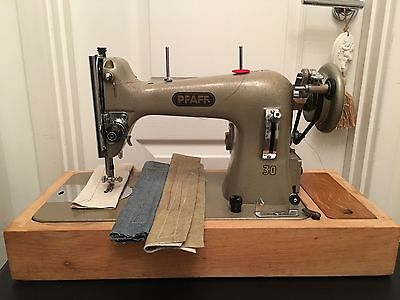 Pfaff 30 Upholstery , Leather Sewing Machine