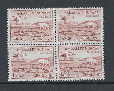 XG-N211 GREENLAND - Wild Animals, 1981 Pearyland Expedition, Block Of 4 MNH Set