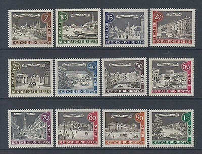 XG-N283 GERMANY/BERLIN - Architecture, 1962 1963, Views Of Old..., 12V MNH Set