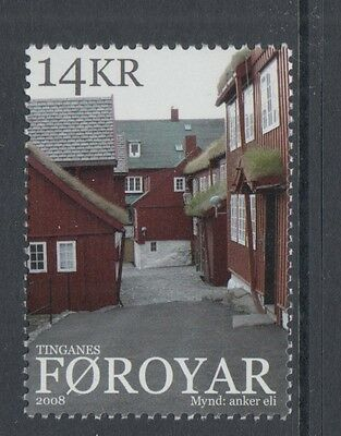 XG-N325 FAROE - Architecture, 2008 Tinganes, Traditional Houses MNH Set