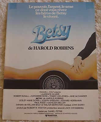 BETSY (vintage 1978 french ad) very good condition