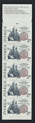 XG-N518 SWEDEN - Usa, 1983 Treaty, Joint Issue MNH Booklet