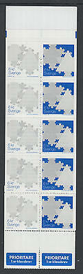 XG-N693 SWEDEN - Christmas, 2000 Snowflakes MNH Booklet