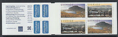 XG-N882 SWEDEN - Europa Cept, 2004 Nature, Mountains, Lappland MNH Booklet
