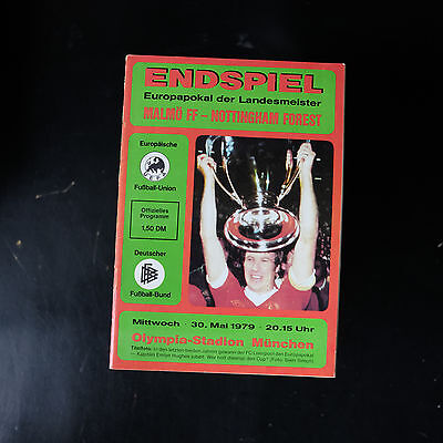 1979 European Cup Final Malmo v Nottingham Forest