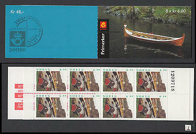 XG-W357 NORWAY - Lighthouses, 1997 8x6Kr. MNH Booklet