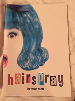 Hairspray programme Shaftesbury Theatre 2007 (3rd ed.) Michael Ball Mel Smith