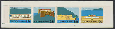 XG-W369 MADEIRA - Architecture, 1986 Castles, Fortifications MNH Booklet