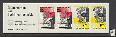 XG-W394 NETHERLANDS - Architecture, 1987 Monuments PB35 MNH Booklet