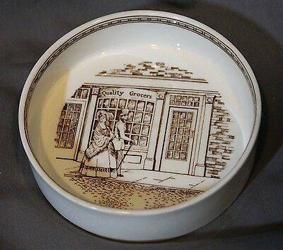 Adams Real English Ironstone Trinket Dish Jewelry Tray