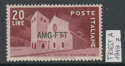 XG-W674 TRIEST A - Architecture, 1949 Triest Elections, June 12 MNH Set
