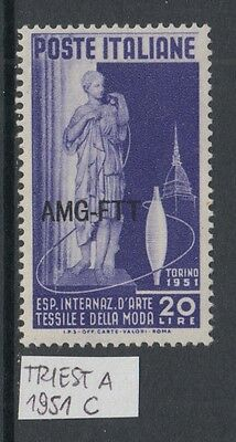 XG-W687 TRIEST A - Sculptures, 1951 Turin Textile Industry Exposition MNH Set