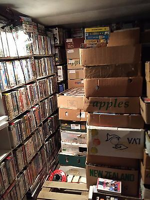 100  Vhs  Video Tape Films, Very Large Collection (1970 To 2010 )