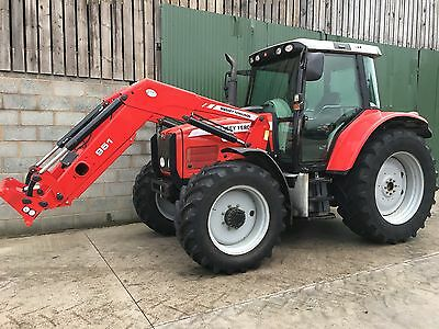 2004 massey ferguson 6470 tractor with quicke loader