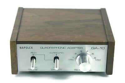 Vtg Napolex Quadraphonic Adapter QA-10  2-4 Channel Surround Unit Stereo Hi Fi
