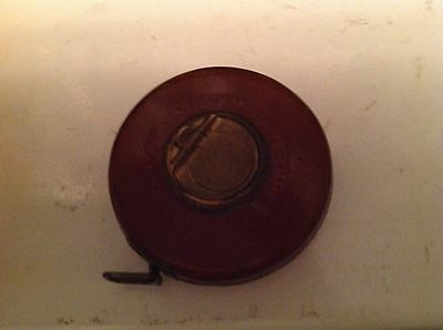 Vintage Chesterman of Sheffield tape measure